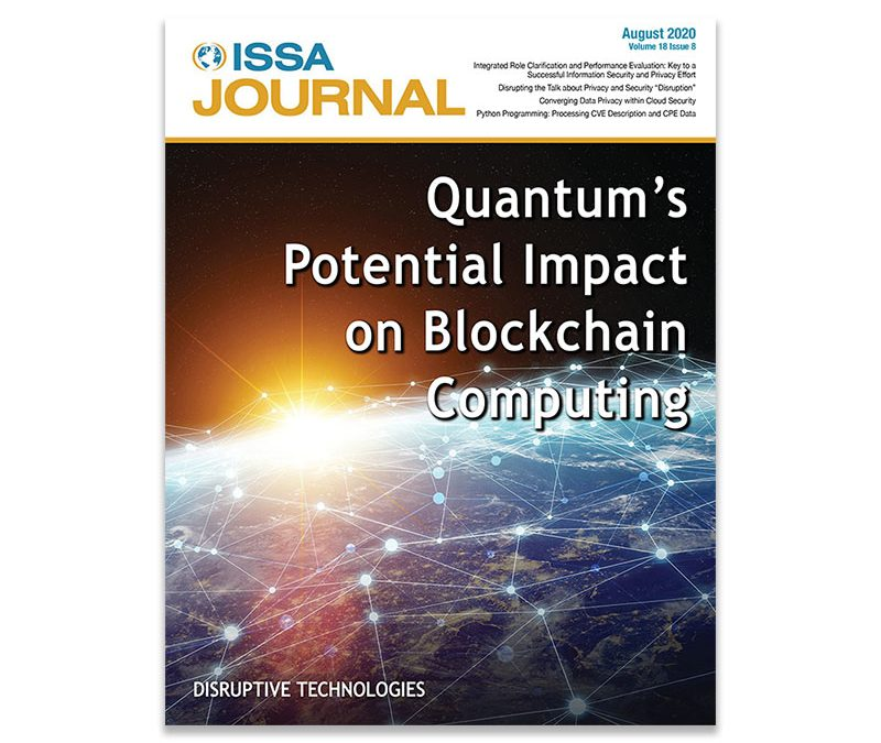 ISSA Journal August 2020